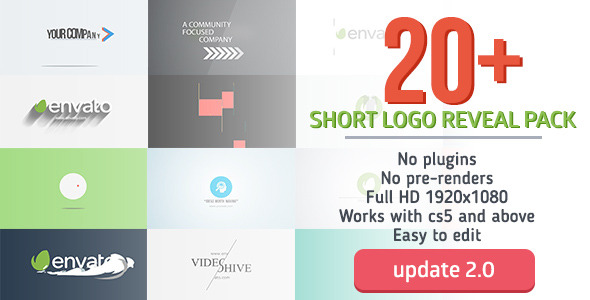 Short Logo Reveal Pack