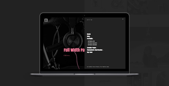 North: Creative Bold Modern Grid Portfolio Theme (Creative) Download