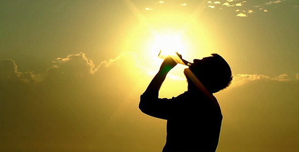 VideoHive Thirsty Man under the Sun 11950099