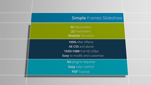 Simple Frames Slideshow