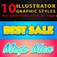 10 Illustrator Graphic Styles Vol.5