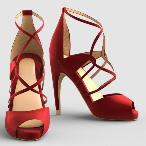 3DOcean High Heels 01 12117463
