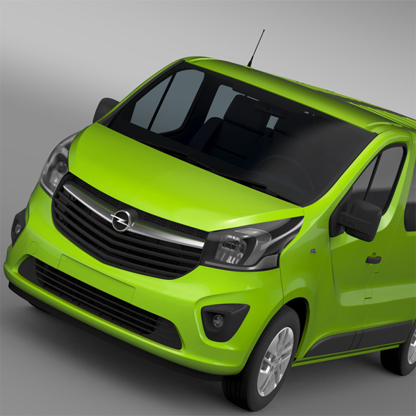 Opel Vivaro EcoFlex 2015 - 3DOcean Item for Sale