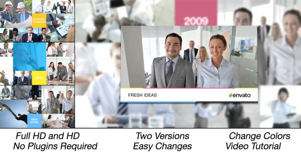 Corporate Multi Video Displays