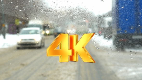 VideoHive Slow Driving On Messy City Roads 12118920