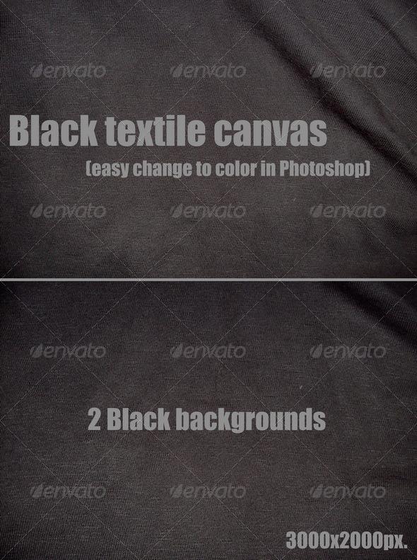 GraphicRiver Black textile canvas 147859