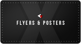 X's Flyers+Posters