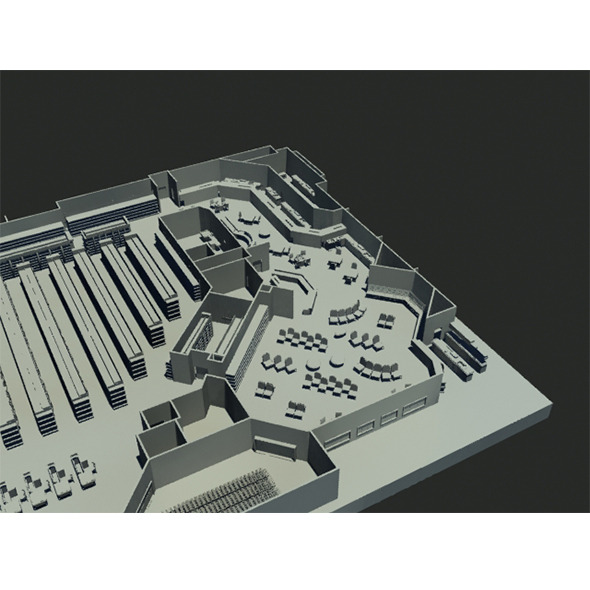 3DOcean Super market 12125135