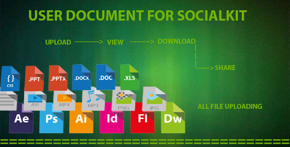 CodeCanyon User document for socialkit 12125530
