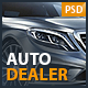 Auto Dealer - Car Dealer PSD Template
