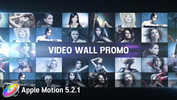 Download Video Wall Promo - Apple Motion nulled download