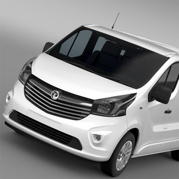 3DOcean Vauxhall Vivaro Biturbo 2015 12126849