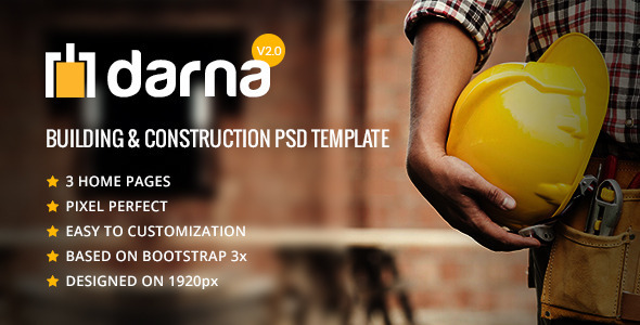 Darna-  Building & Construction PSD Template
