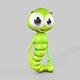 Larva Rigged Character