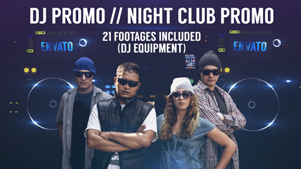 DJ Promo Night Club Promo