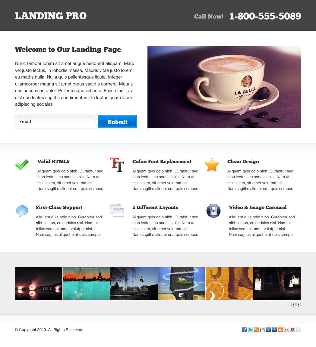 LandingPro Landing Page