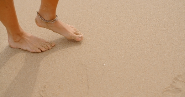 Image result for bare feet on the sand