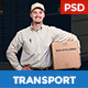 Max Logistics - Transport & Logistics PSD Template