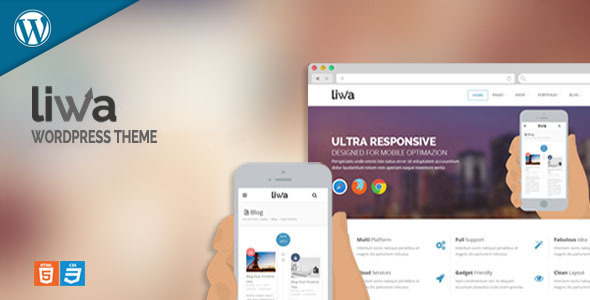 Liwa MultiPurpose Wordpress Theme