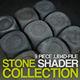 Cinema 4D Stone Shader collection