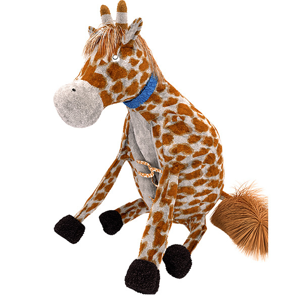 3DOcean Giraffe Pillow Plush Toy 12136193