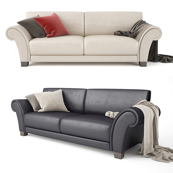 3DOcean Sofa Loveseat 12136206