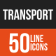 Line Transport Icons