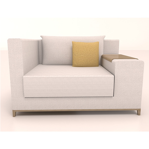 3DOcean Single sofa 12138194