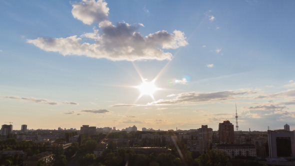 VideoHive City Sunset 7 12139046