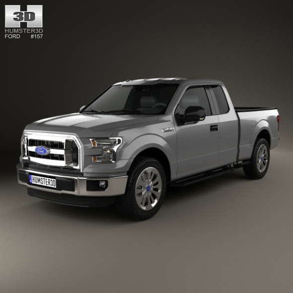 Ford F-150 Super Cab XL 2014 - 3DOcean Item for Sale
