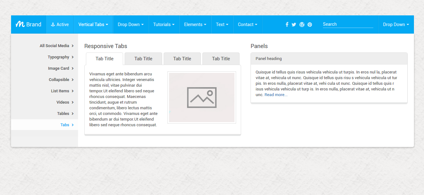 Mash Mega Menu Bootstrap By Thebestdesigns Codecanyon