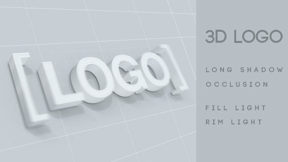 Logo Text 3D