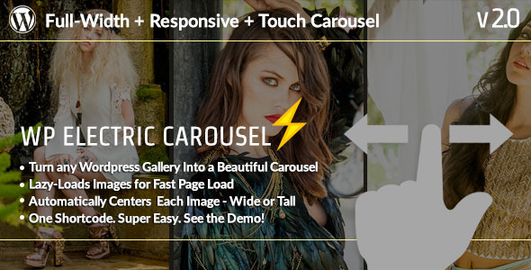 WP Electric Carousel - Full Width Touch Responsive Lazy Load Slider - CodeCanyon Item for Sale