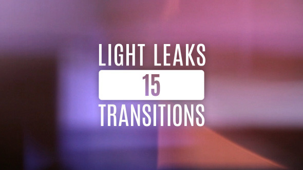 15 Light Leaks Transitions