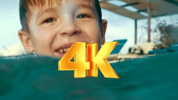 VideoHive He Can Play In The Pool All Day Long 12142814