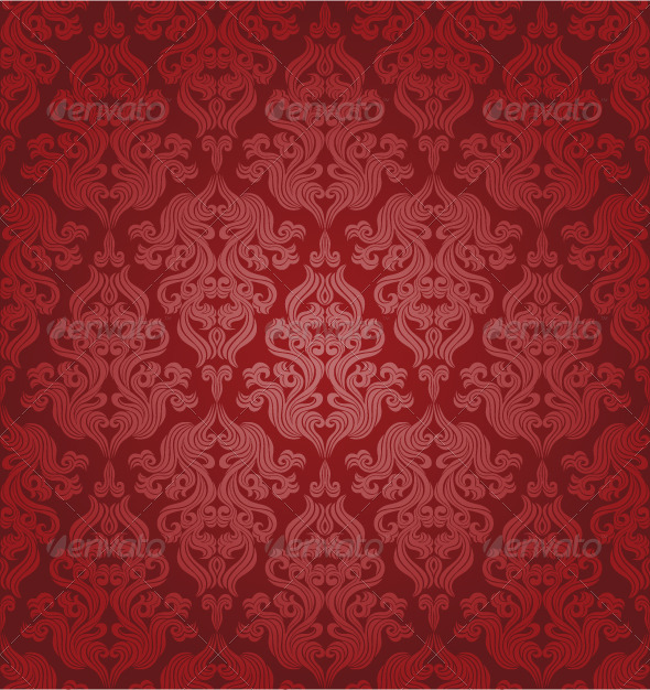 Graphic River Seamless floral pattern Vectors -  Decorative  Patterns 148061