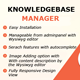 Knowledge Base Manager