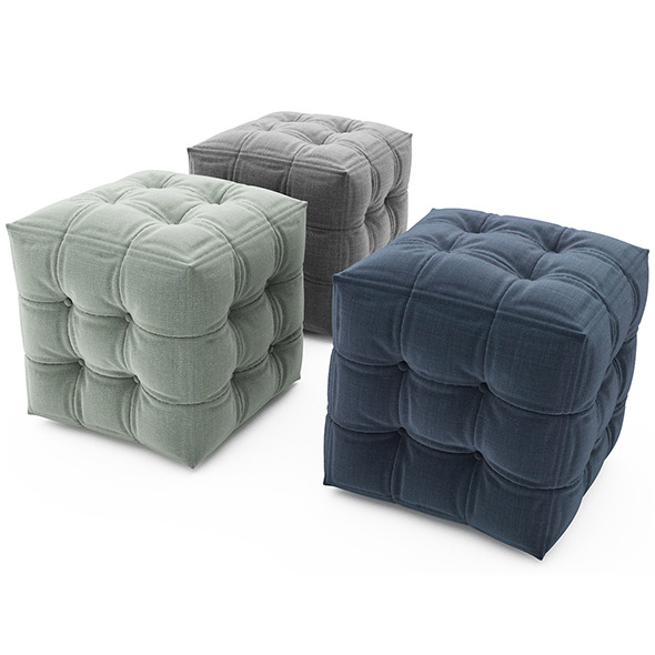 Pouf - 3DOcean Item for Sale