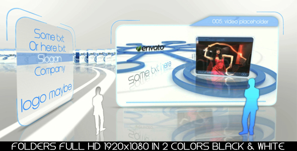 After Effects Project - VideoHive Folders 145356