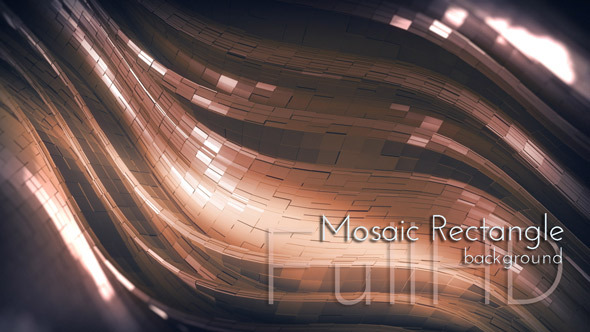 Mosaic Rectangles Background