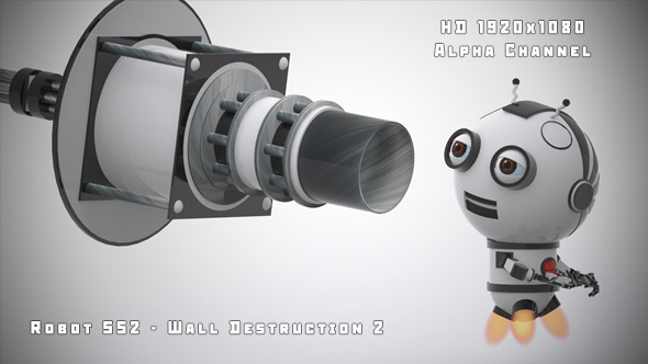 Robot SS2 Wall Destruction 2