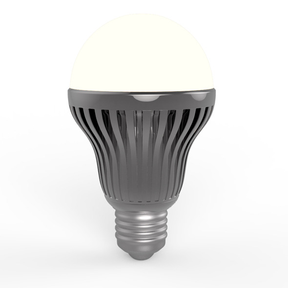 Led Light Bulb B - 3DOcean Item for Sale