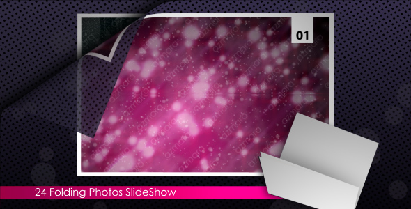 After Effects Project - VideoHive Folding Photo SlideShow 148086