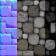 Stone Floor | Realistic Game Texture
