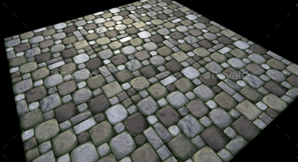 Stone Floor | Realistic Game Texture  - 3DOcean Item for Sale