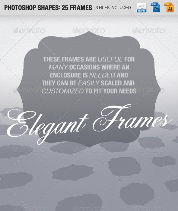 GraphicRiver 25 Frames 148109