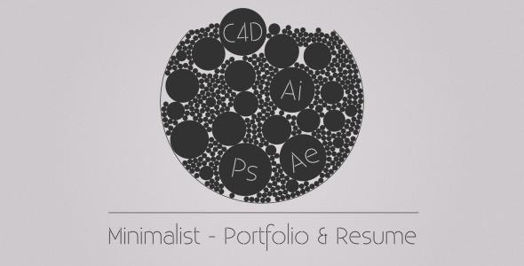 Minimalist – Portfolio & Resume Download