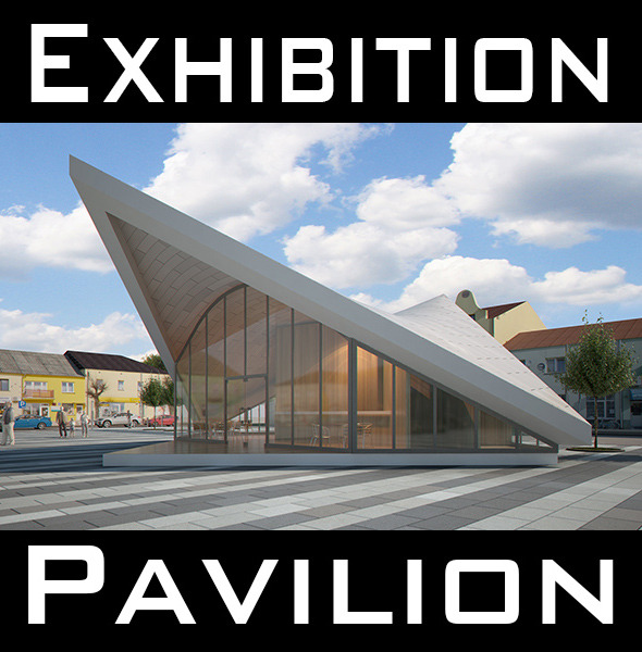 Expo Pavilion at City Plaza Render Ready