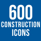 600 Construction Icons