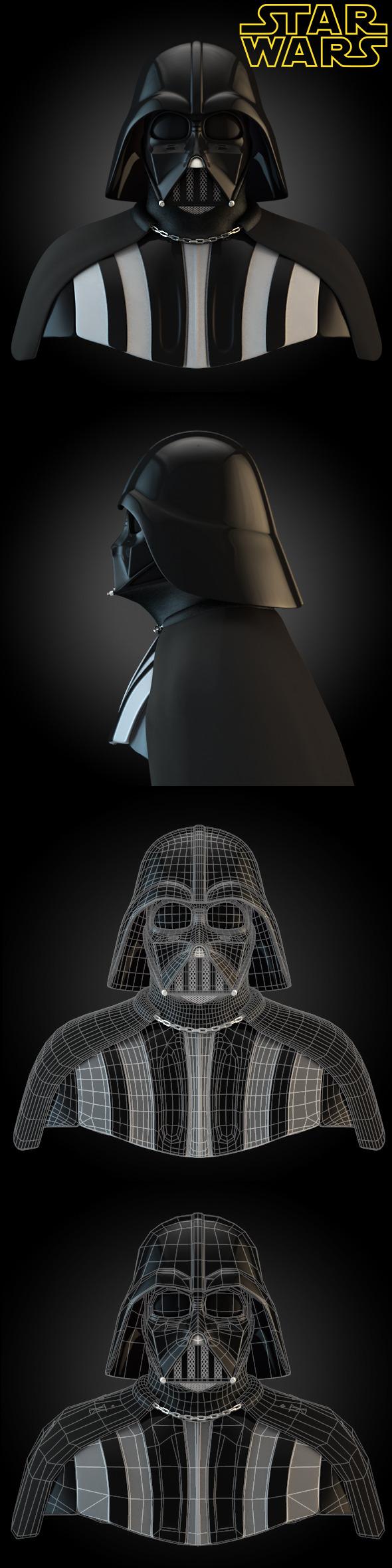 Darth Vader - 3DOcean Item for Sale